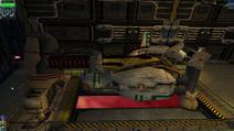 Docked-ship
