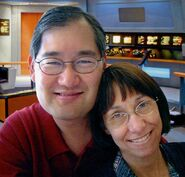 Michael and Denise Okuda