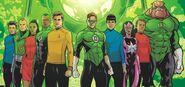 Green Lanterns & Enterprise crew