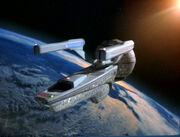 USS Pasteur aft