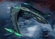 Dhelan class Romulan Type 2