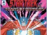 Star Trek vs. Transformers, Issue 4