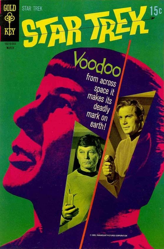 Star Trek TOS Art /& Images Gold Key Comic Book Art Chase Card GK7