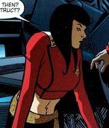 Imperial Starfleet female command uniform, 2333