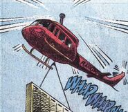 Helicopter DC Comics
