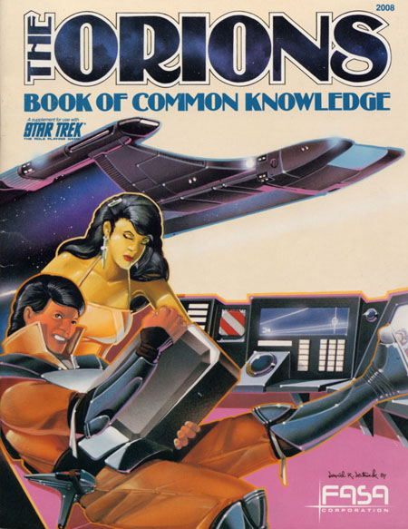 Star Trek: The Orions Book of Common Knowledge, Rogan, Peter R.