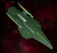 Romulan cargo ship