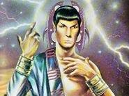 Spock messiah robe