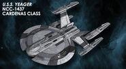 Eaglemoss USS Yeager