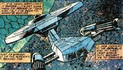 Baton Rogue USS Republic Marvel Comics