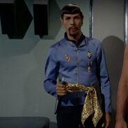 Imperial Starfleet first officer's sciences uniform, 2267