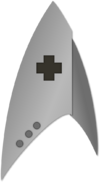 DIS med cmdr insignia