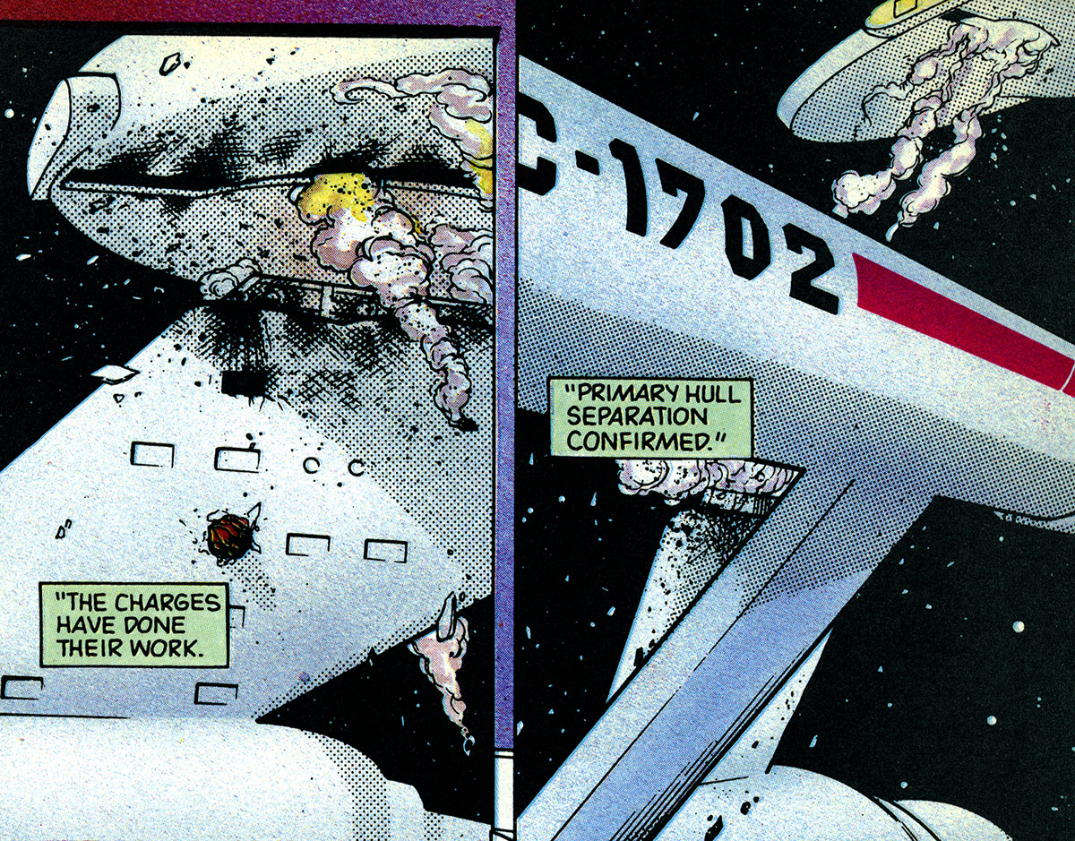 Saucer separation   Memory Beta, non-canon Star Trek Wiki ...