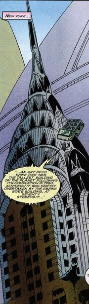 Chrysler Building Marvel Comics