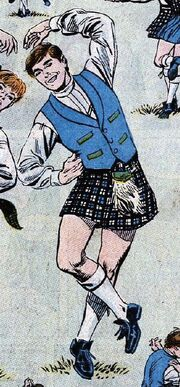 Scotty kilt DC Comics