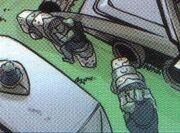 Gorn speeders IDW Comics