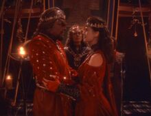 Worf and Jadzia wedding