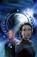 Cross Cult Star Trek Deep Sapce Nine Unity Einheit cover art