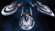 Federation command ships