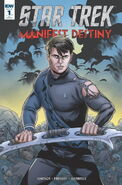 Manifest Destiny -1 RI cover