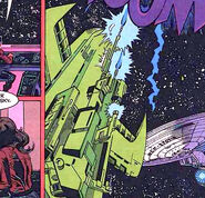 Nasgul fighter bottom DC Comics