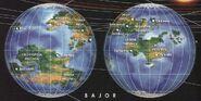 Bajor map