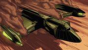 Troi's scout ship