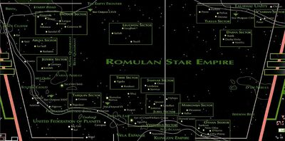 Romulan space