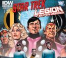 Star Trek—Legion of Super-Heroes, Issue 1