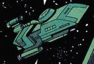 Nasgul shuttle DC Comics
