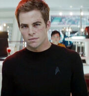 James T. Kirk Chris Pine