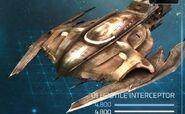 Klingon Outlaw interceptor