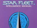 Star Fleet Intelligence Manual: Agent's Orientation Sourcebook