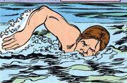 Swimming DC Comics