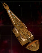 Cardassian mining freighter