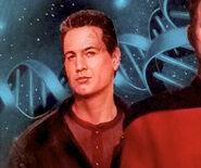 Chakotay, Riker, Torres