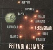 Ferengi Alliance territory
