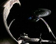 Galaxy class docked at DS9