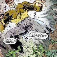 Charlie Evans battles Omega Squad
