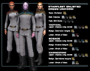 SF enlisted dress uniform