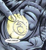 The Circle logo Malibu Comics