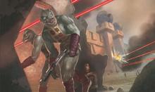 Gorn in combat