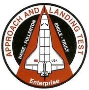 Shuttle Enterprise patch