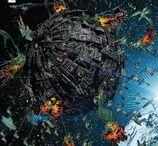 The Endeavour and the Romulans vs the Borg - Star Trek - Boldly Go 004