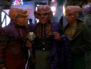 Quark as Nagus
