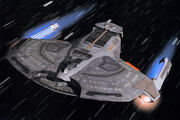 Saber class starship