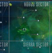 Hobus sector map
