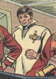 Imperial Starfleet medical attire, 2285