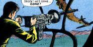 Machine-gun-turret