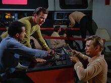Kelso, Alden and Kirk repair helm